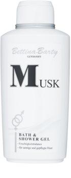 Bettina Barty Classic Musk gel de douche pour femme 500 ml