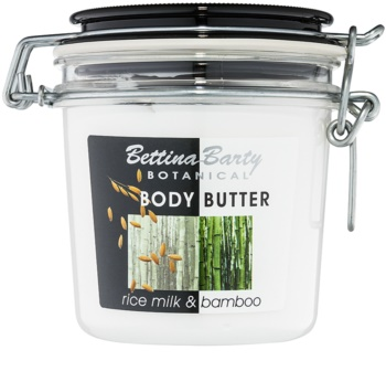 Bettina Barty Botanical Rice Milk & Bamboo beurre corporel