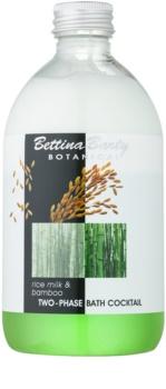 Bettina Barty Botanical Rice Milk & Bamboo mousse bi-phasée pour le bain