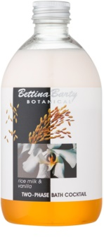 Bettina Barty Botanical Rise Milk & Vanilla dvojfázová pena do kúpeľa