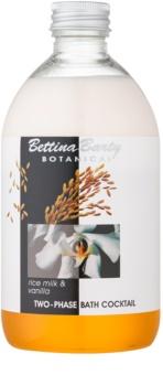 Bettina Barty Botanical Rise Milk & Vanilla espuma bifásica para banho
