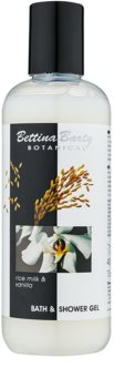 Bettina Barty Botanical Rise Milk & Vanilla tusoló- és fürdőgél