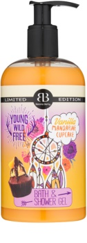 Bettina Barty Vanilla Mandarine Cupcake gel de duche e banho