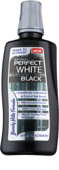 Beverly Hills Formula Perfect White Black wybielający płyn do płukania ust z węglem aktywowanym odświeżający oddech