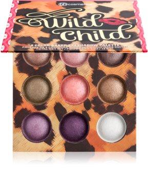 BH Cosmetics Wild Child paletka očných tieňov so zrkadielkom