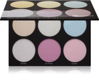 BH Cosmetics Blacklight Highlight paleta rozjaśniaczy
