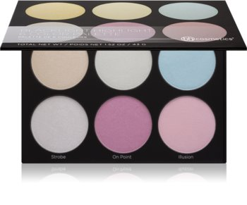 BH Cosmetics Blacklight Highlight paleta rozjasňovačů