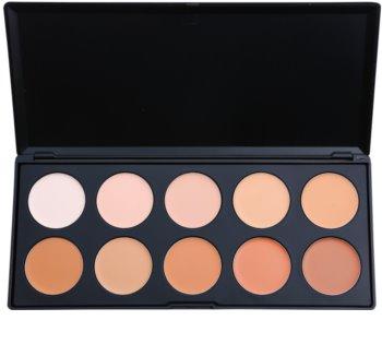 BH Cosmetics 10 Color paleta korektorov a make-upov
