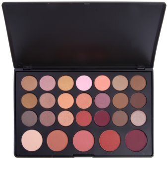 BH Cosmetics 26 Color palete de sombras e blushes