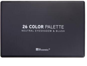 BH Cosmetics 26 Color Palette mit Lidschatten und Rouge