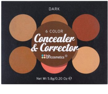 BH Cosmetics 6 Color paleta korektorów