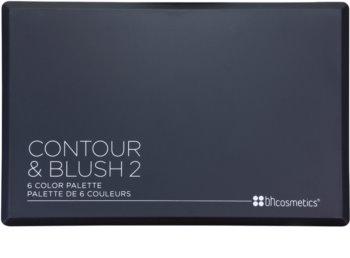 BH Cosmetics Contour & Blush arckontúr paletta