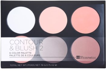 BH Cosmetics Contour & Blush palette contorno viso