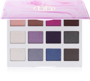 BH Cosmetics Marble Cool Stone paleta očních stínů