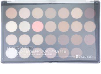 BH Cosmetics Neutral Eyes paleta očních stínů