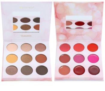 BH Cosmetics Shaaanxo Palette mit Lidschatten und Lippenstiften