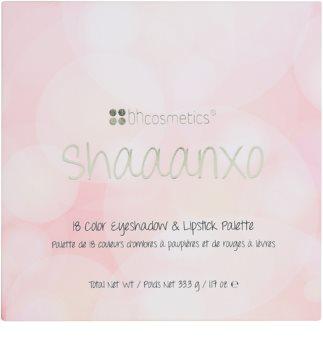 BH Cosmetics Shaaanxo палітра тіней для повік та помад