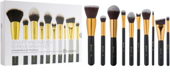 BH Cosmetics Sculpt and Blend 2 набір щіточок для макіяжу