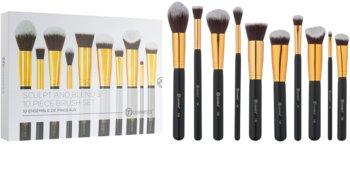 BH Cosmetics Sculpt and Blend 3 kit de pinceaux