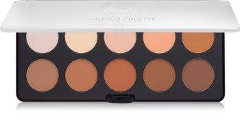 BH Cosmetics Studio Pro paleta za konture obraza z osvetljevalcem