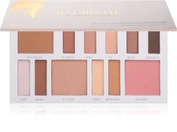 BHcosmetics Illuminate by Ashley Tisdale multifunkciós arc paletta