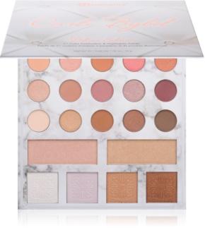 BH Cosmetics Carli Bybel Palette mit Lidschatten und Highlightern