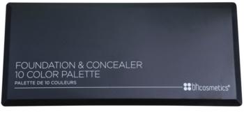 BHcosmetics 10 Color paleta corectoare