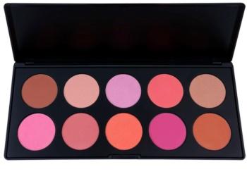 BH Cosmetics BHcosmetics 10 Color paleta tvářenek