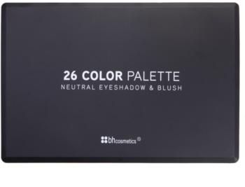 BHcosmetics 26 Color paleta cu fard de pleoape si fard de obraz
