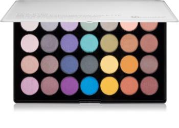 BHcosmetics 28 Color Foil metálszínű szemhéjfesték paletta