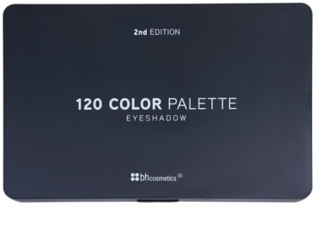 BHcosmetics 120 Color 2nd Edition paleta farduri de ochi