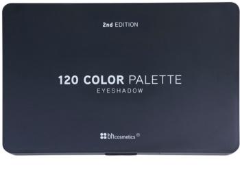 BHcosmetics 120 Color 2nd Edition palette de fards à paupières
