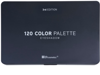 BHcosmetics 120 Color 3rd Edition палетка тіней