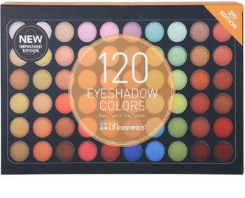 BH Cosmetics BHcosmetics 120 Color 3rd Edition paleta sjenila za oči