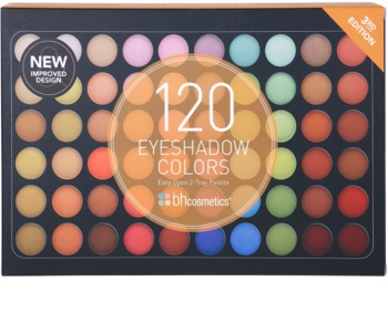 BHcosmetics 120 Color 3rd Edition paleta farduri de ochi