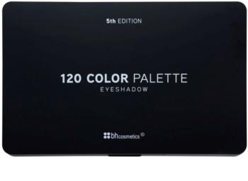 BHcosmetics 120 Color 5th Edition Palette mit Lidschatten mit Spiegel