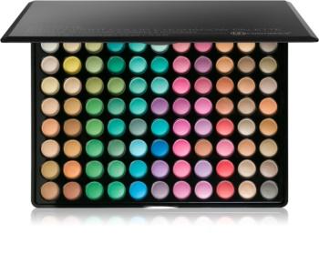 BH Cosmetics 88 Color Matte paleta de sombras de ojos con un espejo pequeño