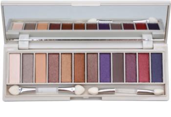 BH Cosmetics Enhancing Palette mit Lidschatten mit Spiegel