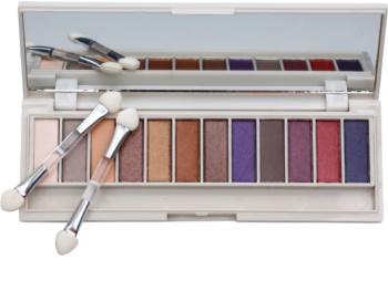 BHcosmetics Enhancing Palette mit Lidschatten mit Spiegel
