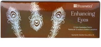 BHcosmetics Enhancing paleta farduri de ochi cu oglinda mica