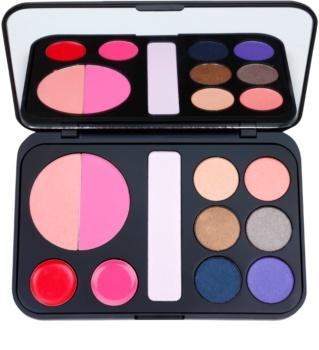 BHcosmetics Forever Glam palette de maquillage avec miroir
