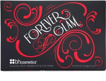 BH Cosmetics Forever Glam gama de produse cosmetice make-up cu oglinda mica