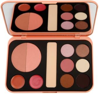 BH Cosmetics BHcosmetics Forever Nude paleta de cosméticos decorativos com espelho pequeno