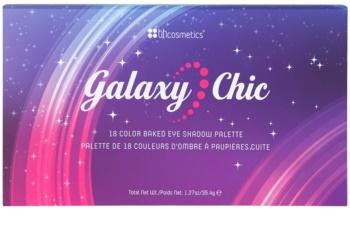 BHcosmetics Galaxy Chic paleta farduri de ochi