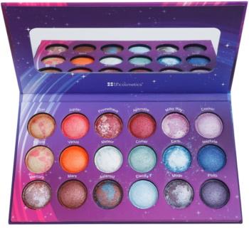 BHcosmetics Galaxy Chic paleta očních stínů