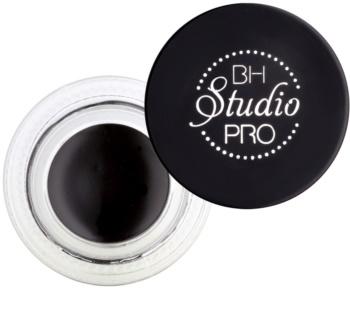 BH Cosmetics Gel Eyeliner tartós zselés szemhéjtus ecsettel