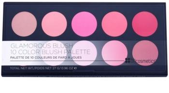 BH Cosmetics Glamorous arcpirosító paletta