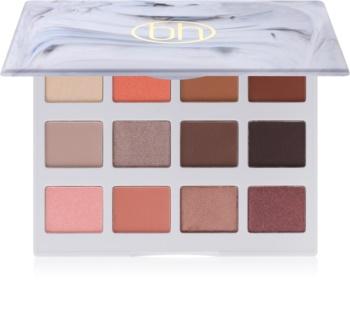 BH Cosmetics BHcosmetics Marble Warm Stone Palette mit Lidschatten