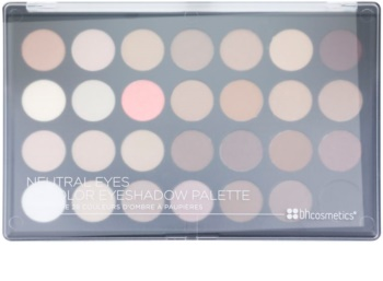BHcosmetics Neutral Eyes paleta farduri de ochi