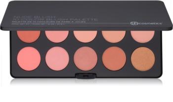 BHcosmetics Nude Blush paleta fard de obraz